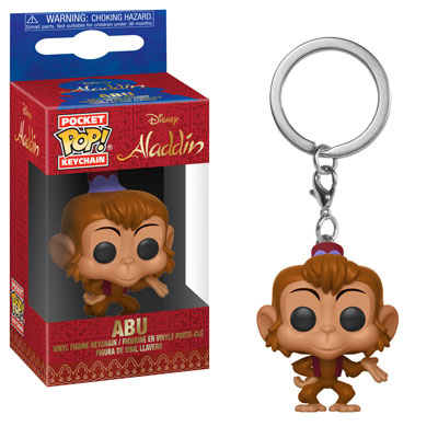 Abu Pocket Pop Keychain Funko Aladdin