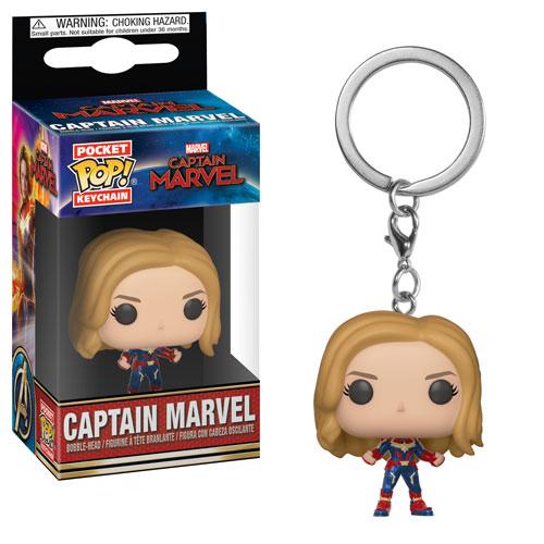 Captain Marvel Pocket Pop Keychain Funko