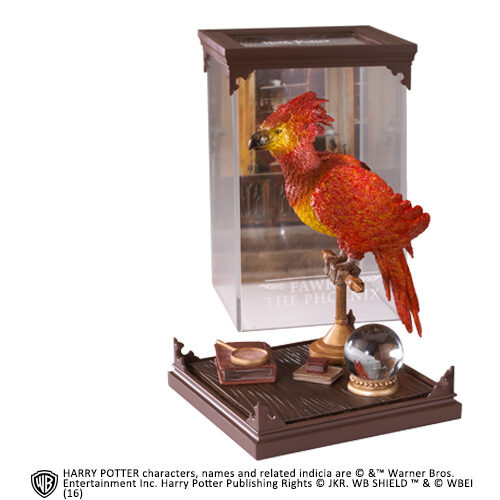 Fawkes Magical Creatures The Noble Collection