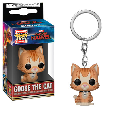 Goose The Cat Funko Pocket Pop Keychain Captain Marvel