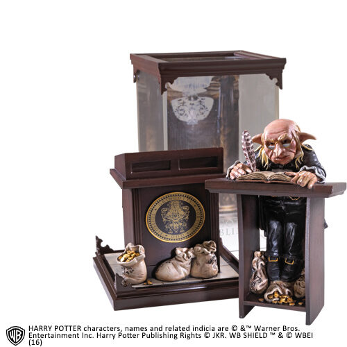 Gringotts Goblin Magical Creatures The Noble Collection