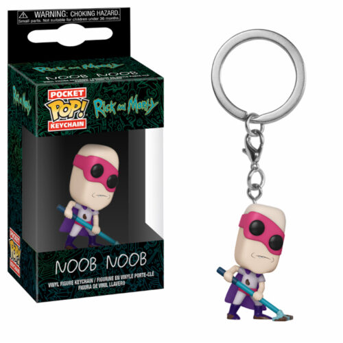 Noob Noob Funko Pocket Pop Keychain Rick and Morty
