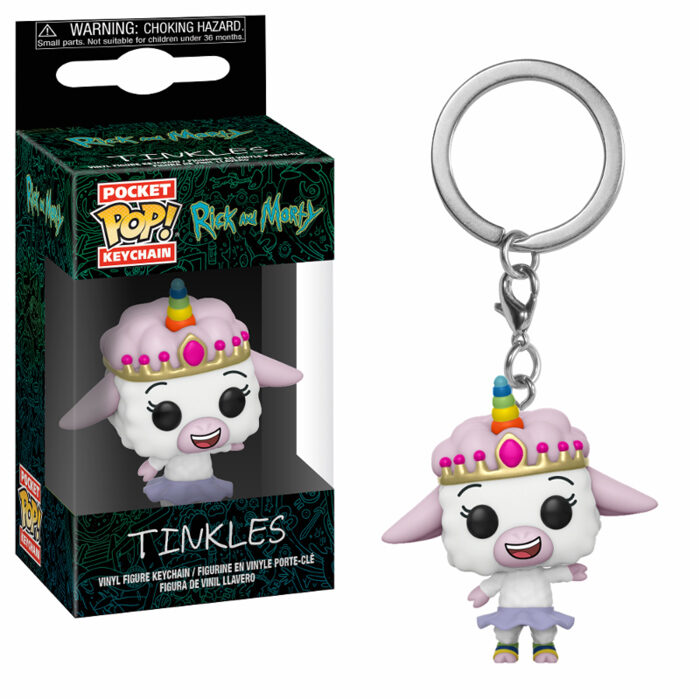 Tinkles Pocket Pop Keychain Rick and Morty