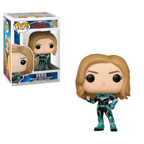 Vers Funko Pop Captain Marvel