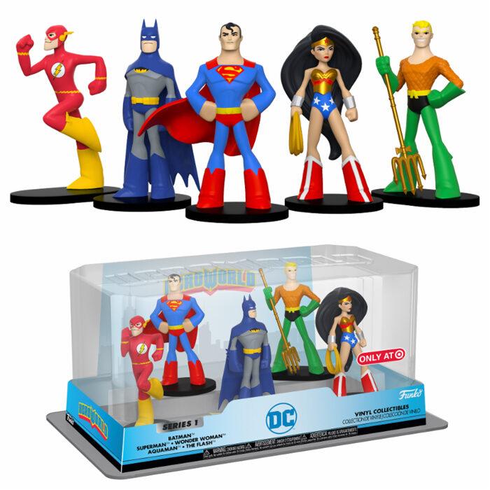 DC Heroes HeroWorld 5-pack Funko