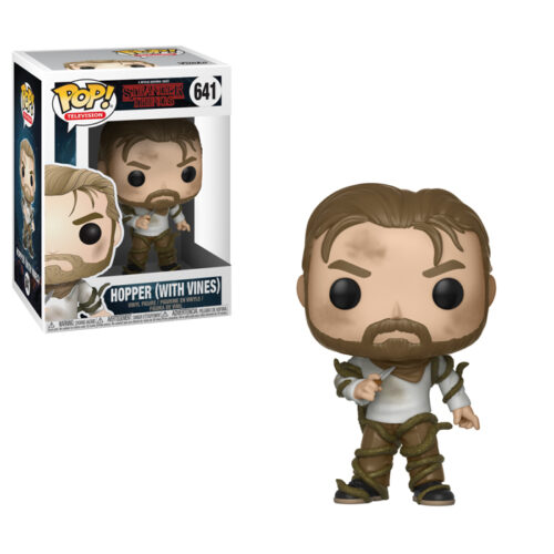 Hopper with Vines Funko Pop Stranger Things