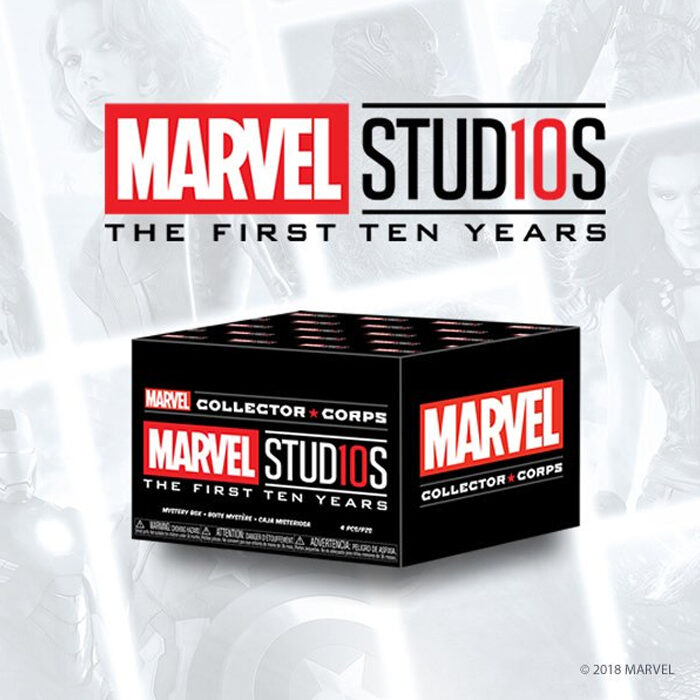 Marvel The First 10 Years Box