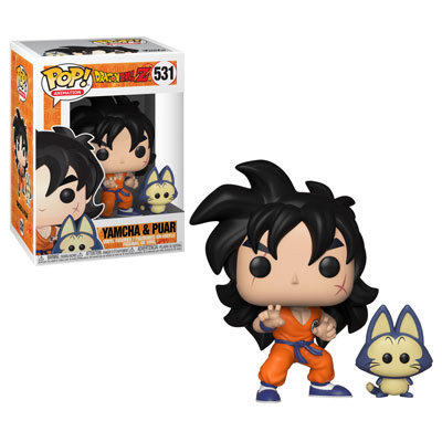 Yamcha and Puar Funko Pop Dragonball Z