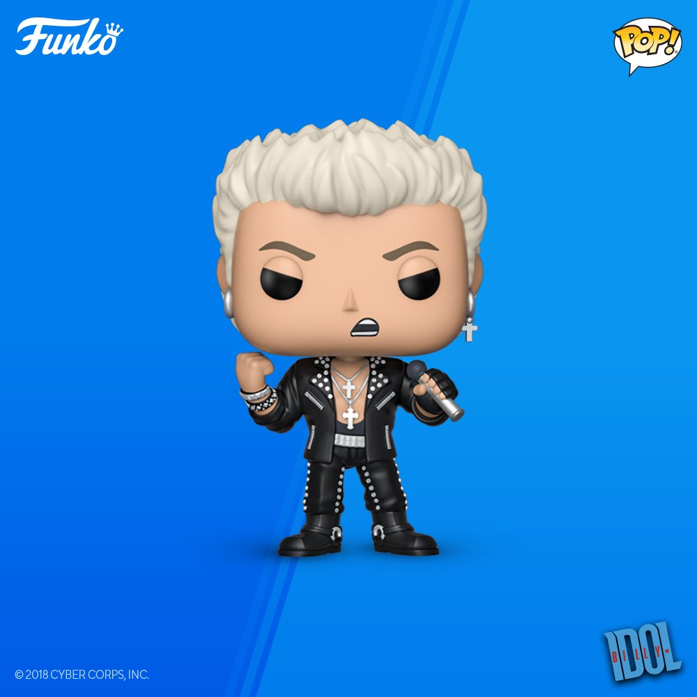 Billy Idol Funko Pop!