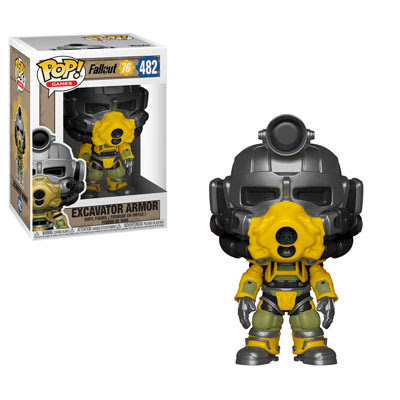 Excavator Power Armor Funko Pop