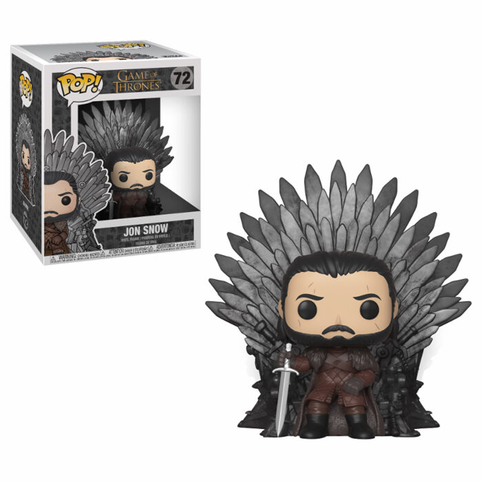 Jon Snow Sitting on Throne Funko Pop