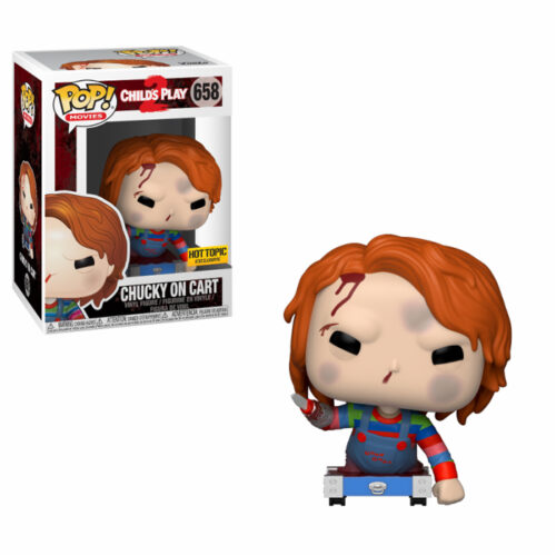 Chucky on Cart Funko Pop
