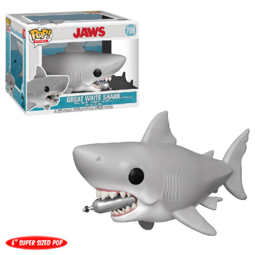 Great White Shark Jaws with tank 6 inch Funko Pop