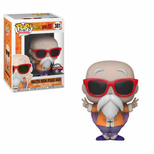 Master Roshi (Peace Sign) Funko Pop