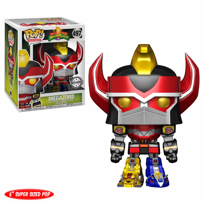 Megazord (Metallic) 6 Inch Funko Pop