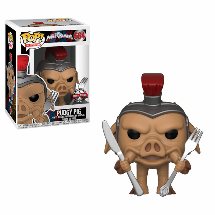 Pudgy Pig Power Rangers Funko Pop