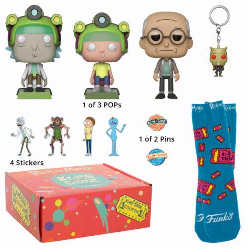 Rick & Morty Arcade Box Funko