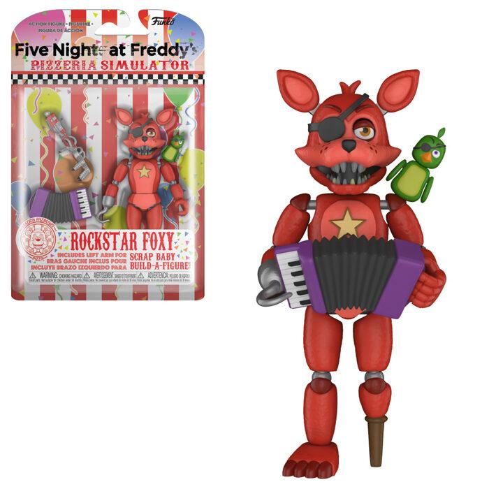 Rockstar Foxy Action Figure