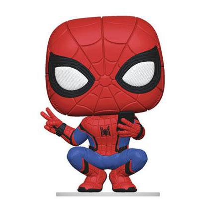 Spider-Man Hero Suit Funko Pop