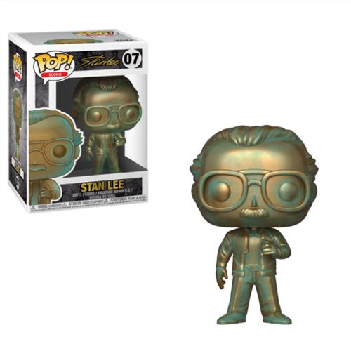 Stan Lee (Patina) Funko Pop