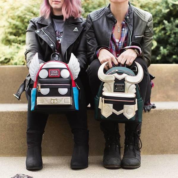 Loki Mini Backpack van Loungefly by Funko nu hier online!