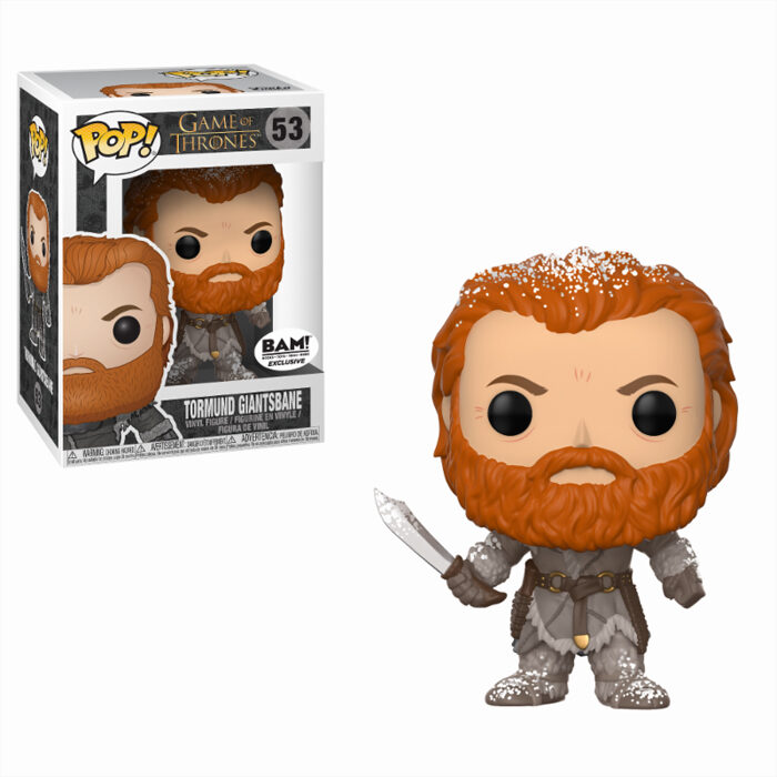 Tormund (Snow Covered) Funko Pop