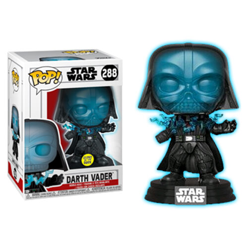 Darth Vader Electrocuted Glow in the Dark Funko Pop
