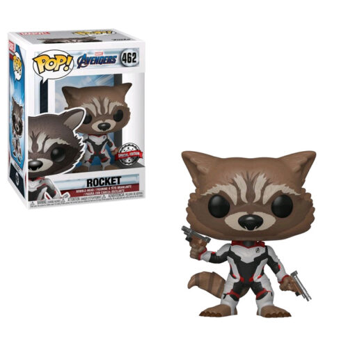 Rocket Team Suit Exclusive Funko Pop