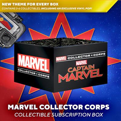 Captain Marvel Box
