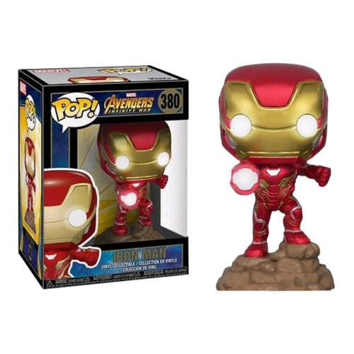 Iron Man Light Up Funko Pop