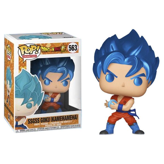 SSGSS Goku Kamehameha Metallic Funko