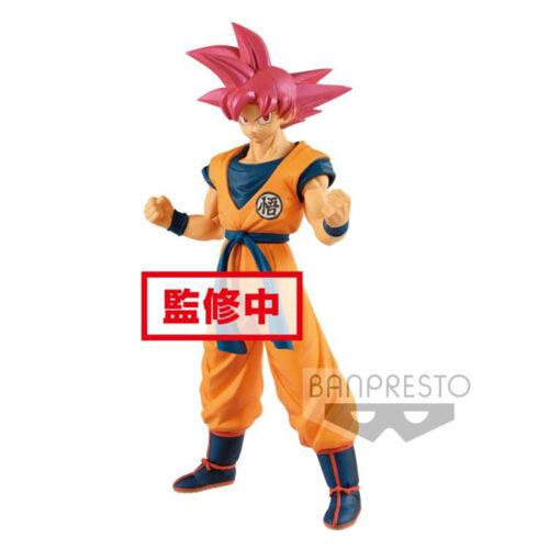 Super Saiyan God Goku Chokoku Buyuden Banpresto