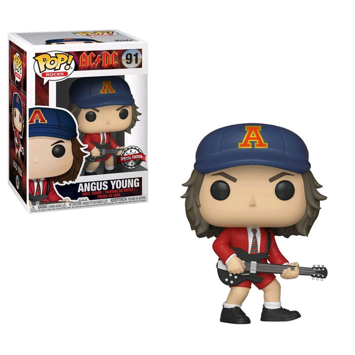 Angus Young Red Jacket Funko Pop
