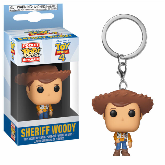 Sheriff Woody Pocket Pop Keychain Funko