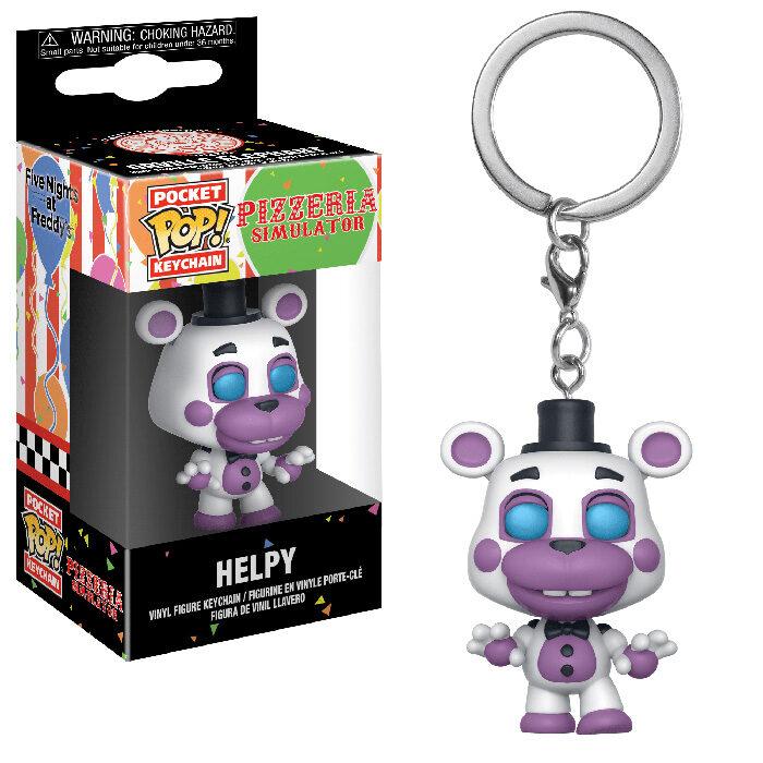 Helpy Pocket Pop Keychain