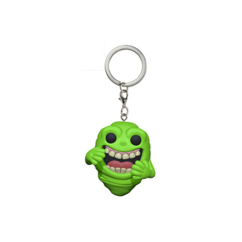 Slimer Ghostbusters Funko Pocket Pop Keychain
