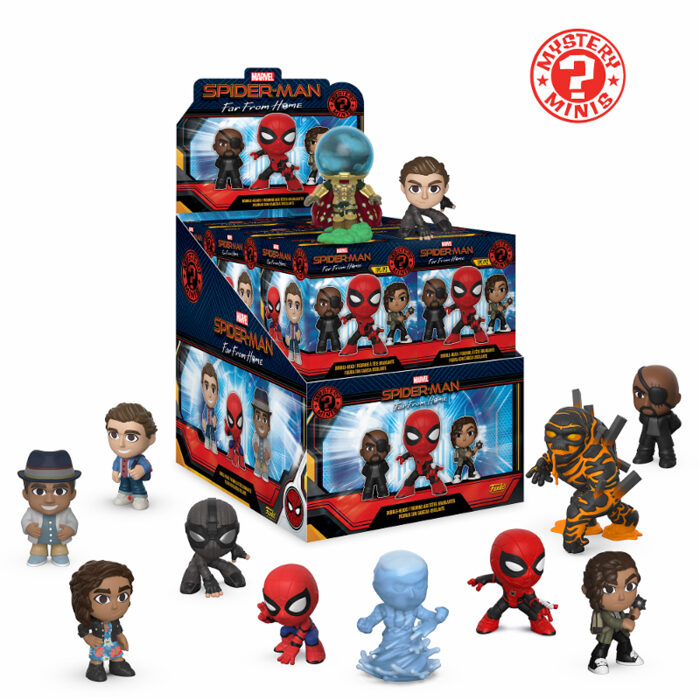 Spider-Man Far From Home Mystery Mini Funko
