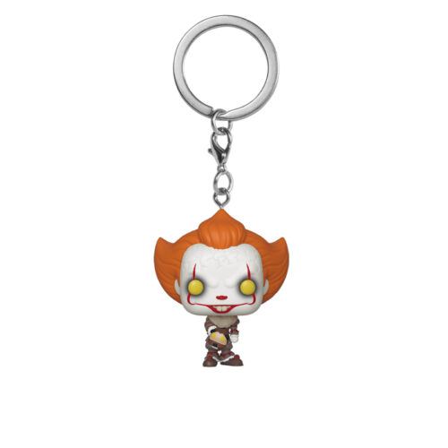 Pennywise with Beaver Hat Pocket Pop Keychain