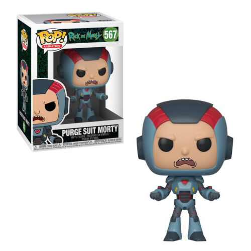 Purge Suit Morty Funko Pop