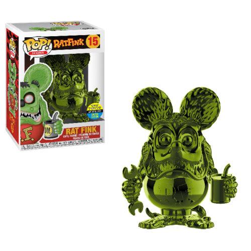Rat Fink Green Chrome SDCC Funko Pop