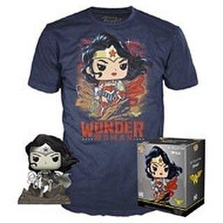 Wonder Woman Jim Lee Pop Tee
