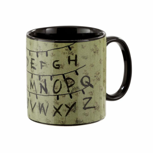 Alphabet Heat Reveal Mug Stranger Things
