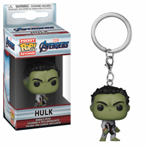 Hulk Endgame Funko Pocket Pop Ketchain