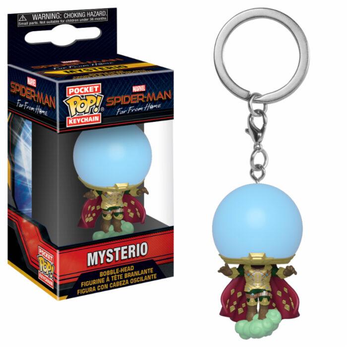 Mysterio Spider-Man Pocket Pop Keychain