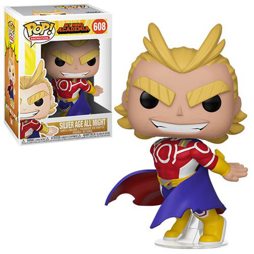 Silver Age All Might Funko Pop