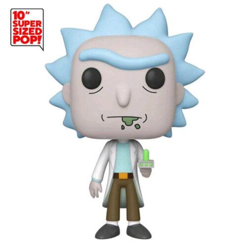 Rick with Portal Gun Exclusive 10inch Funko Pop