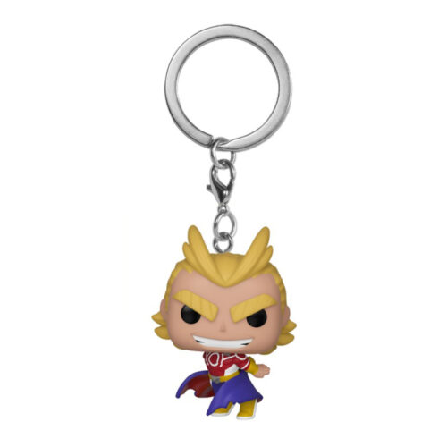 All Might Silver Age Funko Pocket Pop Keychain