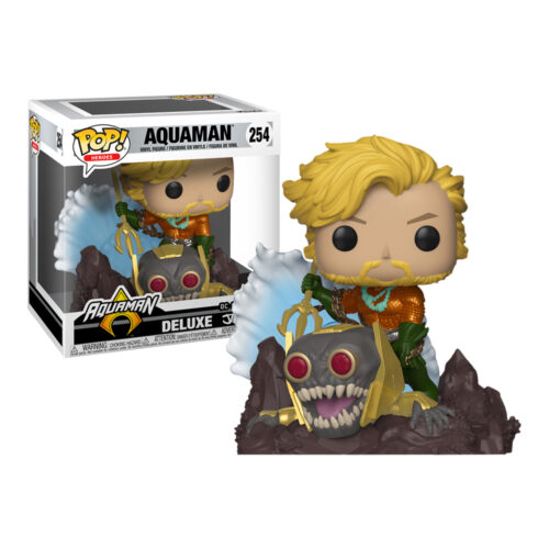 Aquaman Jim Lee Deluxe Funko Pop