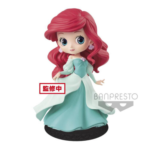 Ariel Princess Green Dress Q Posket Banpresto