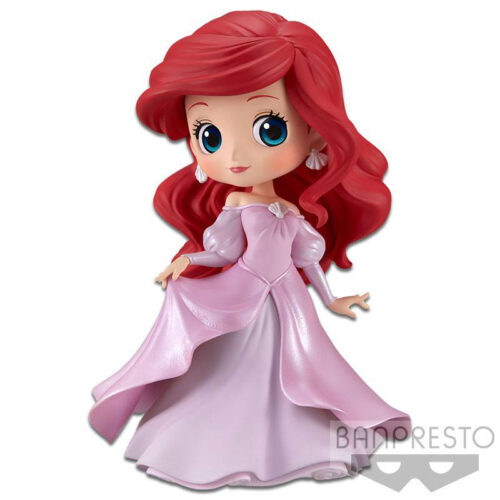 Ariel Princess Pink Dress Q Posket Banpresto